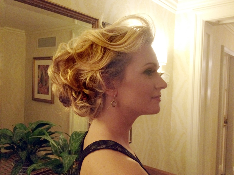 Glamour Bridal Up-Do