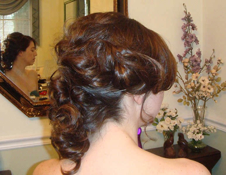 Mermaid Bridal UpDo