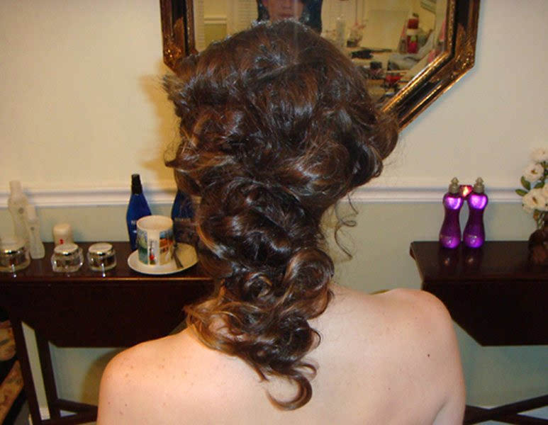 Mermaid Wedding UpDo