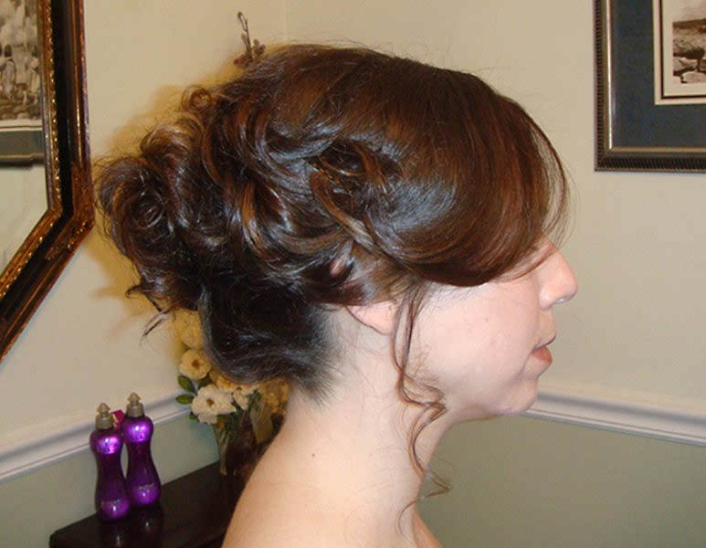 Renascence Wedding UpDo