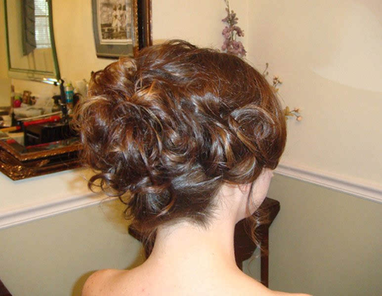 Renascence UpDo for Weddings