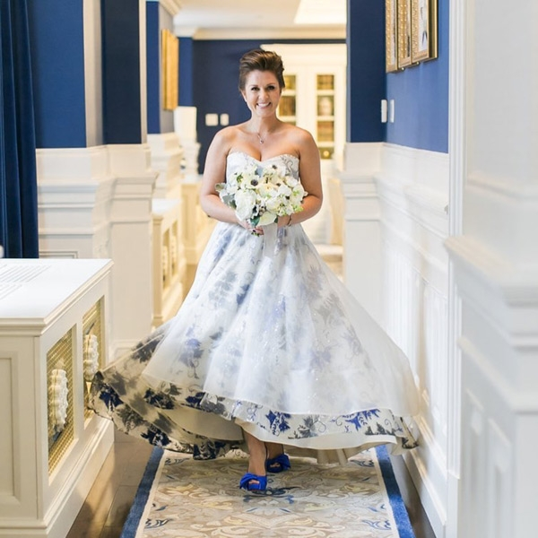 Something Blue For Keltie Washington DC Weddings