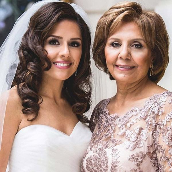Glamourous Bridal Waves for Virgina Wedding