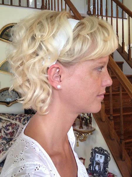 Short Girly Curls 03