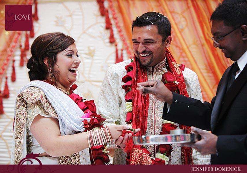 Hair Stylist Makeup Artist for Rachel's Indian Wedding