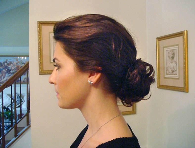 Elegant Bridal Chignon For Weddings