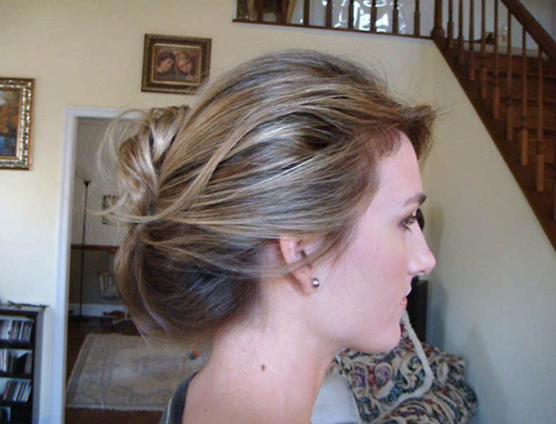 Modern Bridal UpDo Hairstyle