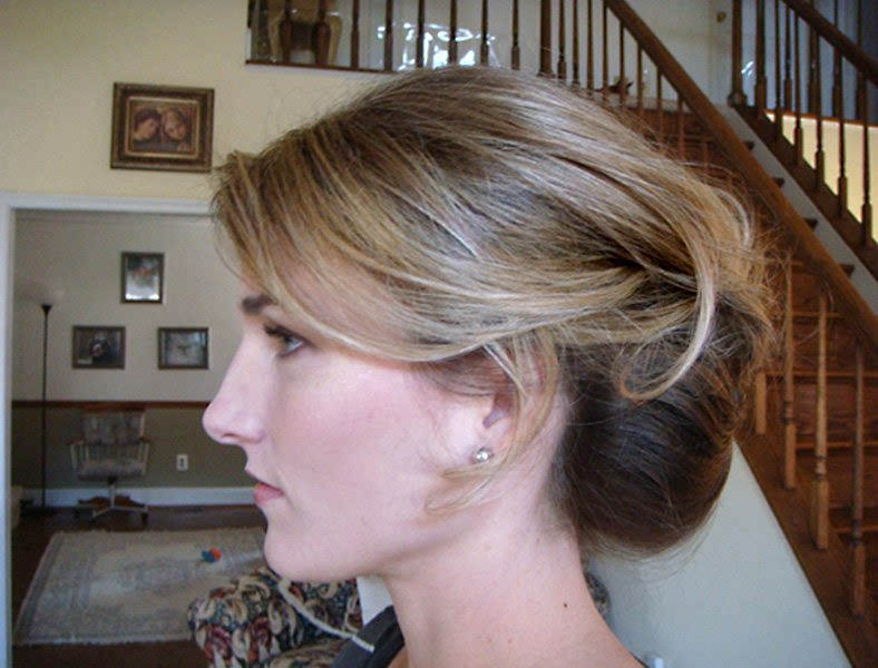 Modern Bridal UpDo Hairstyle for Weddings