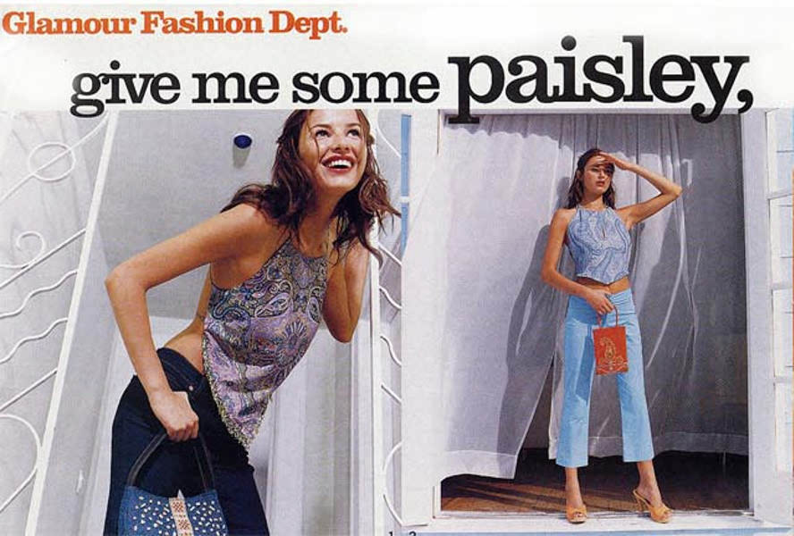 Glamour Paisley