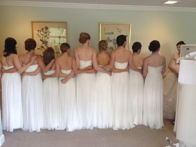 Bridesmaids Hair Stylists