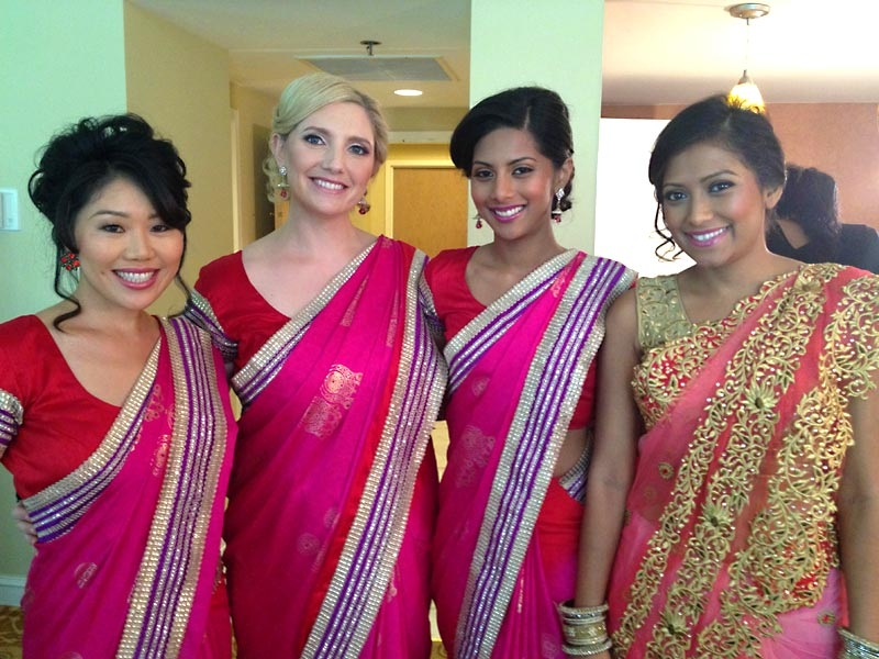Hair and Makeup For Indian Weddings