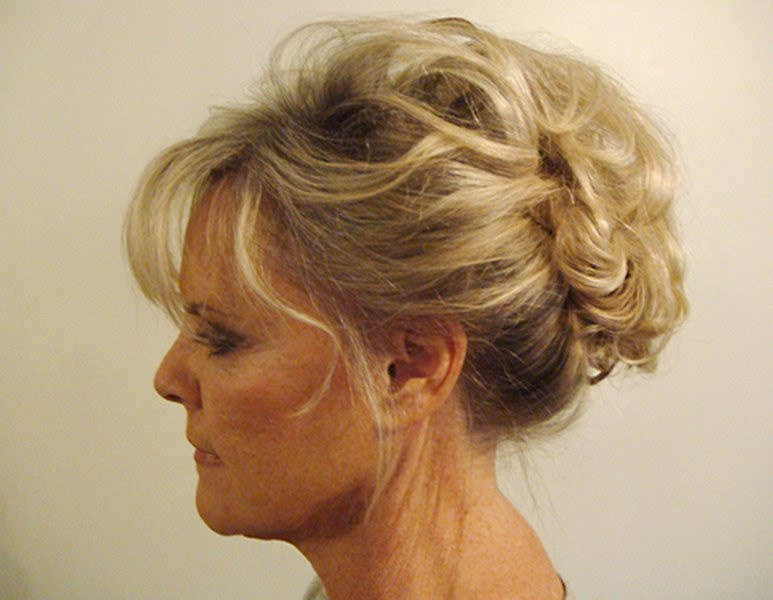 Mother of the Bride Hairstyle Updo