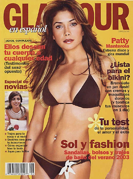 Paty Manterola in Glamour