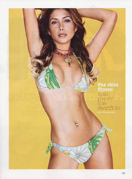 Paty Manterola in Glamour Magazine