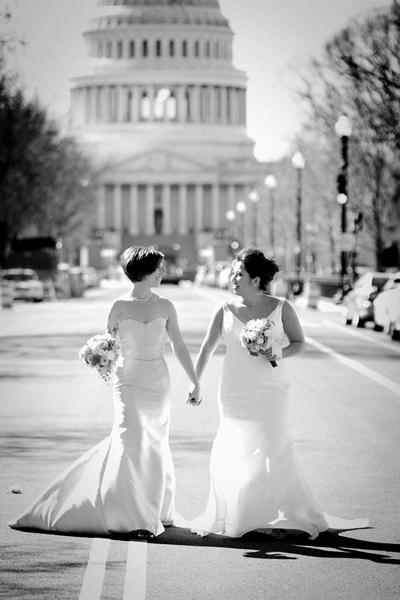 Beautiful Brides in Washington DC Wedding
