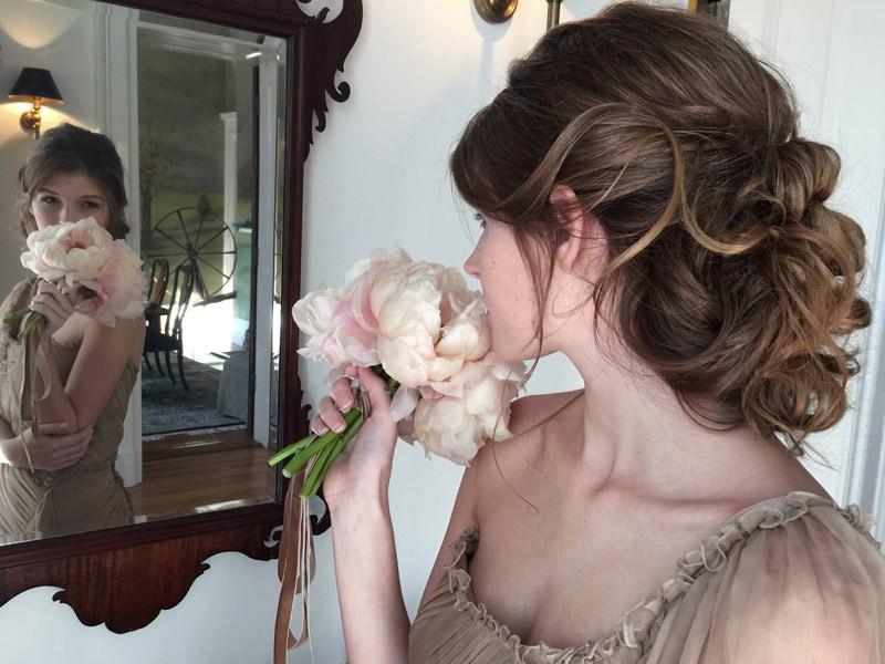 Dreammy Updo for Weddings in DC VA