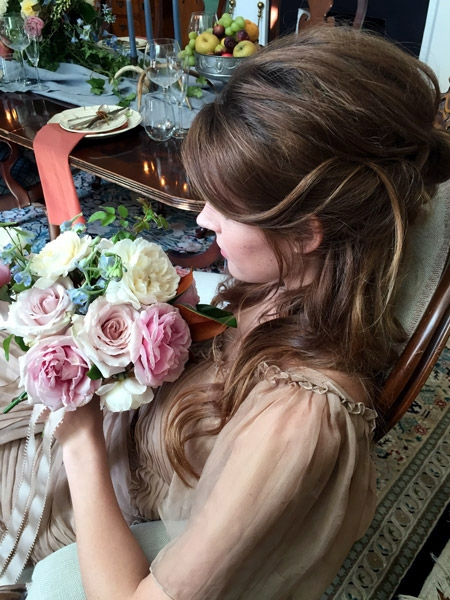 Romantic Hairstyle for Weddings in Washington DC