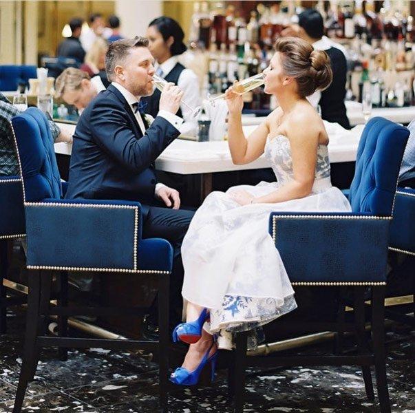 Simply Luxury in a Washington DC Keltie's Wedding