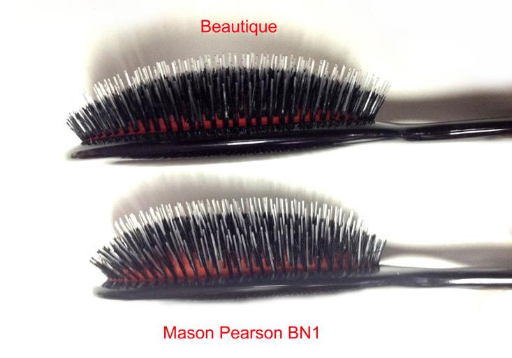 Mason Pearson vs beautique