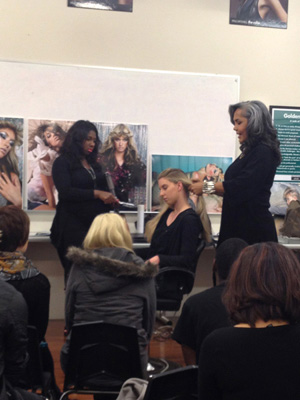 Audrey Bethards at Paul Mitchell