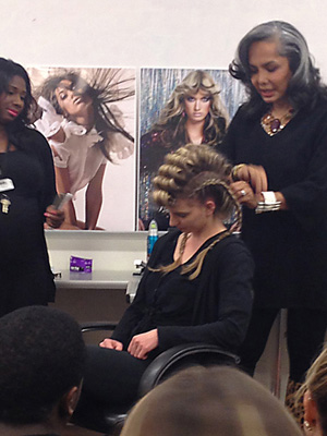 Audrey Bethards Class at Paul Mitchell