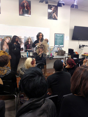Audrey Bethards Pesentation at Paul Mitchell