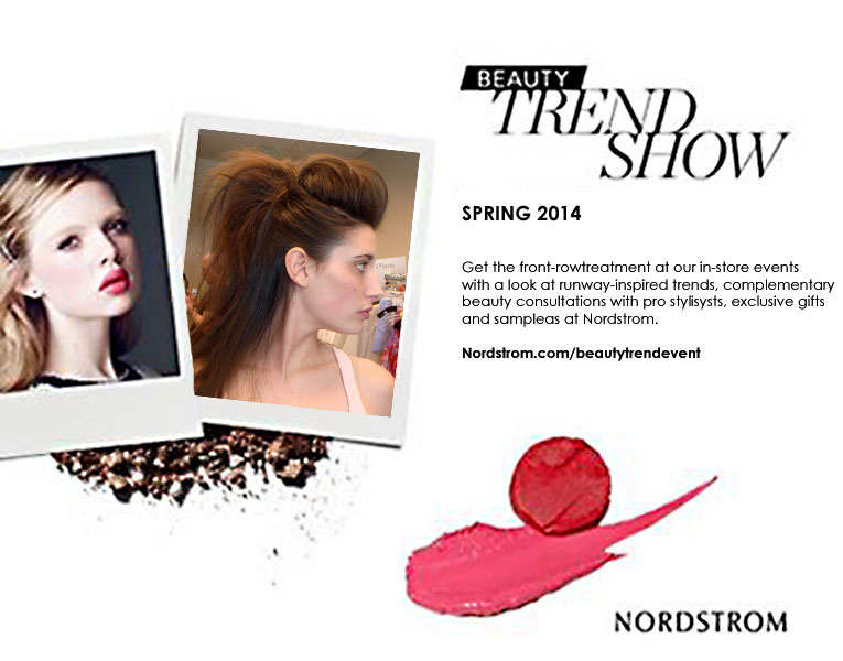 Nordstrom Beauty Trend Shows