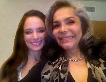 Madeleine Stowe and Audrey Bethards