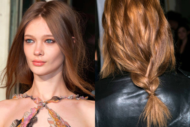 Hairstyles for Weddings Emilio Pucci Fall 2014