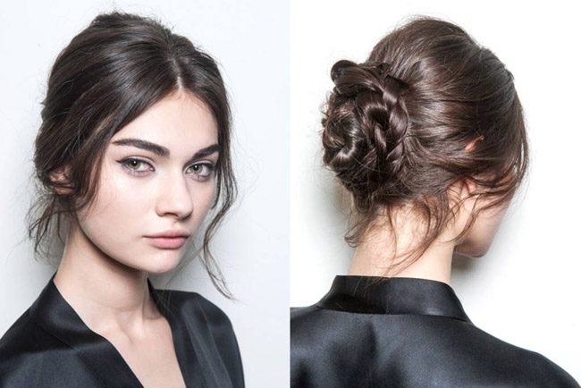 Gabbana Hairstyle Fall 2014