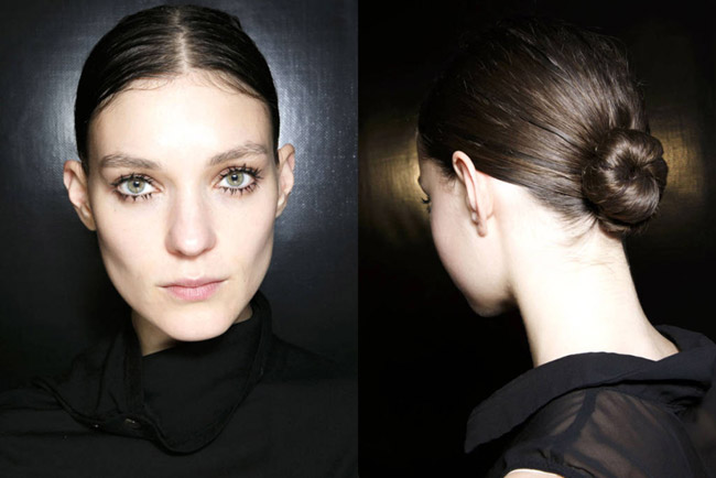 Prada Bridal Hair Fall 2014