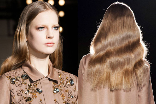 Simple Hairstyles for Weddings Waves by Rochas