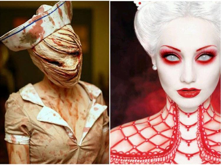 Great Halloween Makeup Audrey Bethards.